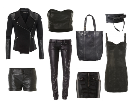 Fall Trend: Black Leather