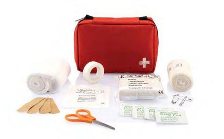 Inside your First Aid Travel kit