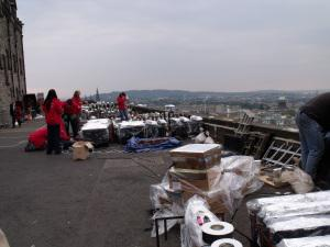 Behind the scenes at the Virgin Money Fireworks