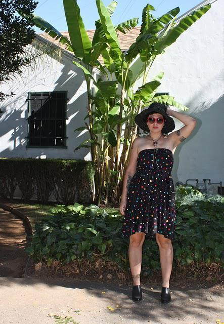 outfit post: Skirt as Dress