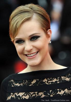Evan Rachel Wood at the Venice Film Festival for Mildred Pierce