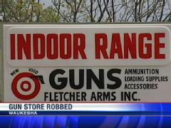 Gun Shop Robbery in Wisconsin