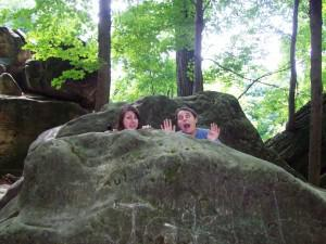 Weekend Walkabout / Sundays in my City:  Whipps Ledges