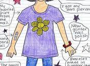 Doodle Summer Self Portrait