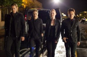 Eric, Pam, Jessica and Bill from S4 Ep10 of True Blood