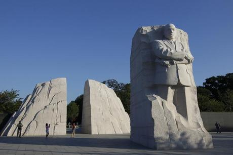 Martin Luther King Sculpture Photography 1