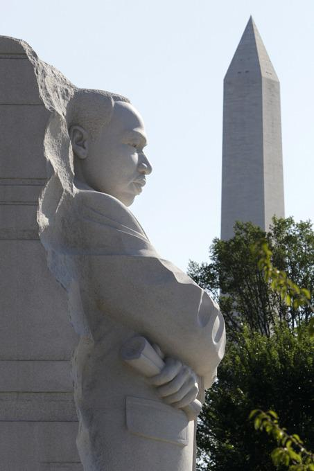 Martin Luther King Sculpture Photography 6
