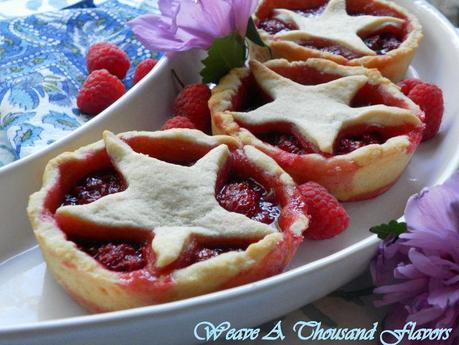 Raspberry crush tarts - 03