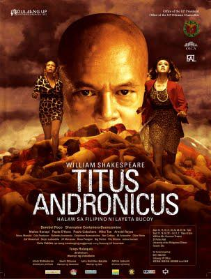 ... Announces Production of Titus Andronicus – The Tribune Papers