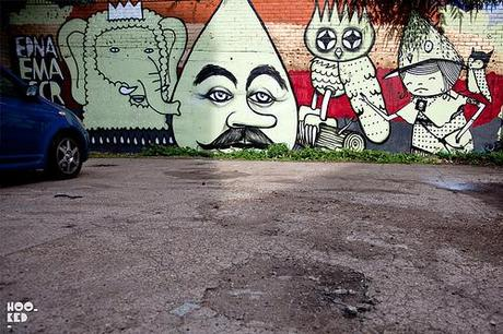Kid Acne, Dscreet, Ghostpatrol, EMA