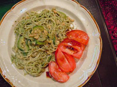 the besto: basil & spinach pesto