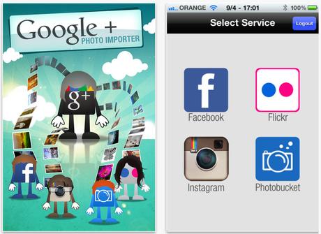Google Plus Photo Importer By Dropico