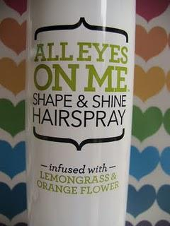 Hump Day Hairdo + Not Your Mother's All Eyes on Me Hairspray Review