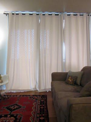 Help! I need to pick out a color for curtains in my new living room!