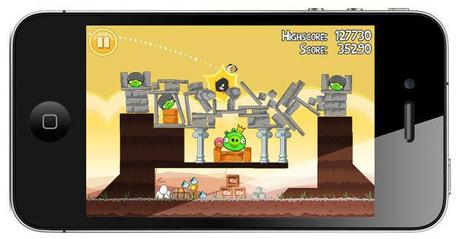 Iphone game- angry brids