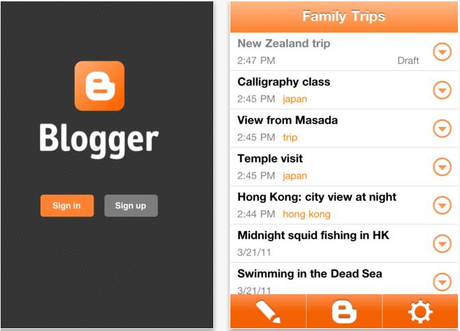 'Blogger' Releases an iPhone App