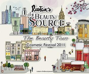 Beauty Tour – Rustan's Cosmetic Festival 2011, all of September…