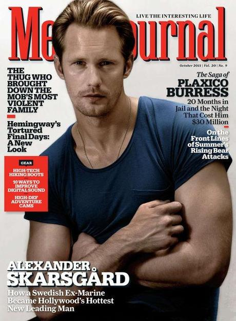 Alexander Skarsgård featured on Men's Journal