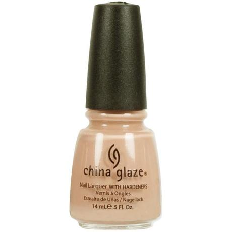 "NOTD – China Glaze ""Nude""…bare but there nails"