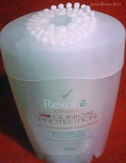 Rexona Clinical Protection Anti-Perspirant Deodorant - My experience!