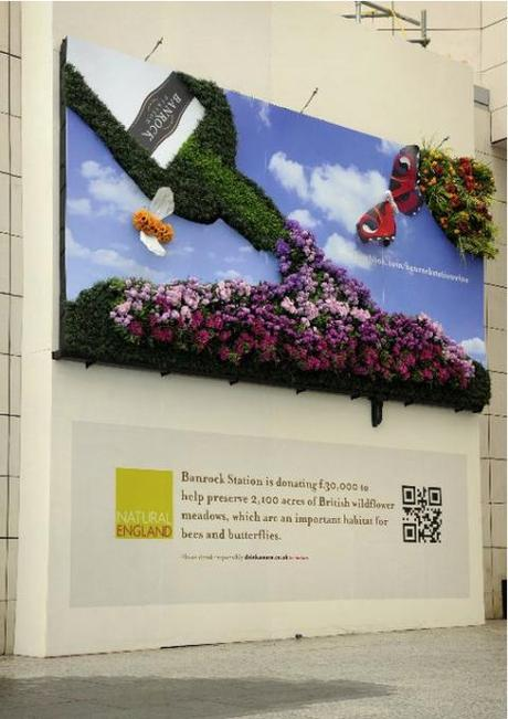 Banrock Station Living Flowers Billboard