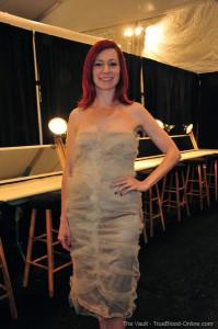 Carrie Preston Attends Multiple Events at NY Fashion Week