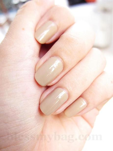 "NOTD: Bobbie Premium Nail Creme ""Touch of Beige"" just Php28!"