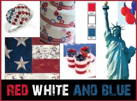 Red White and Blue Inspiration - 9/11