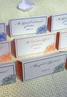 Unique Wedding Place Card Ideas