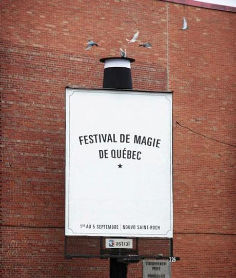 Quebec City Magic Festival Billboard by lg2