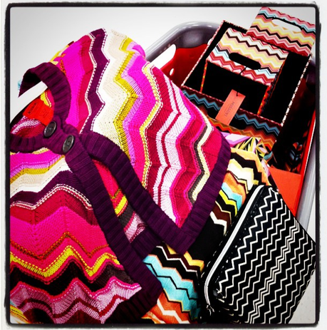 missoni madness.... and a new toaster