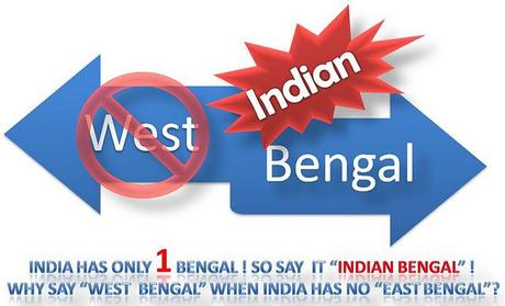 Only BENGAL, not West Bengal !