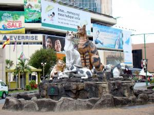 Kuching; the City of Cats