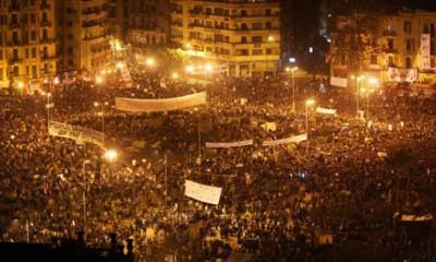 An investment banker on Tahrir Square
