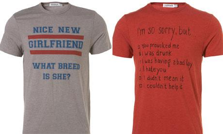 Topman pulls 'nice girlfriend, what breed is she?' t-shirt after Twitter outrage