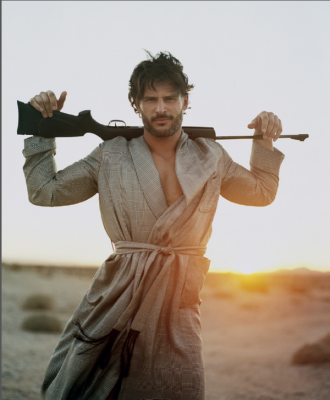 Sneak Peek of Joe Manganiello in GQStyle