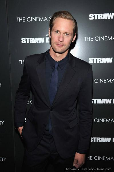Alexander Skarsgård at screening of 'Straw Dogs'