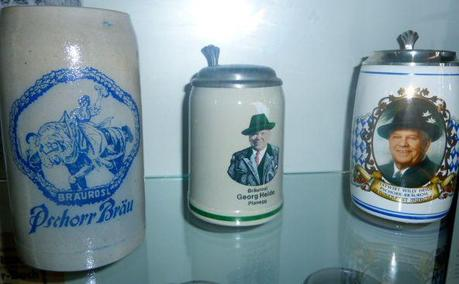 history of oktoberfest bier steins collection at the bier and Oktoberfest Museum