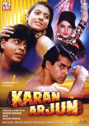 You watched Karan Arjun? Whadda joke!