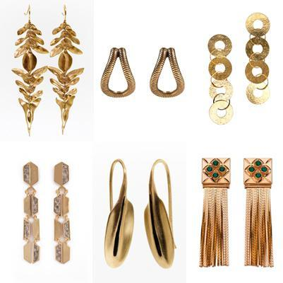 ALLgoldearringsFab Find Friday: Julia Stiles & Metal Accents