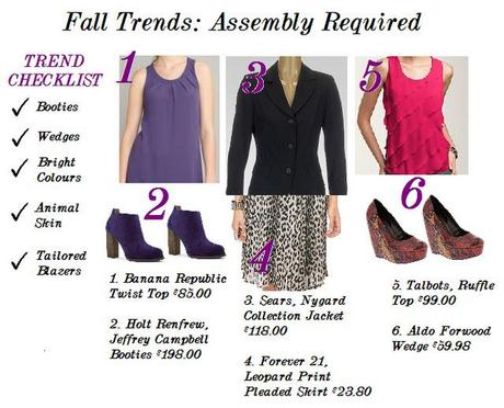Fall Trends: Assembly Required