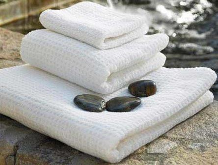 Organic Cotton Spa Towels