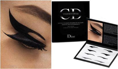 Eyeliner Made Easy: Dior Velvet Eyes Eyeliner Patches…