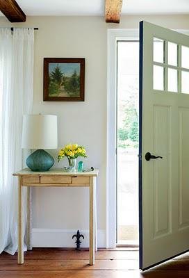 The art of the entryway