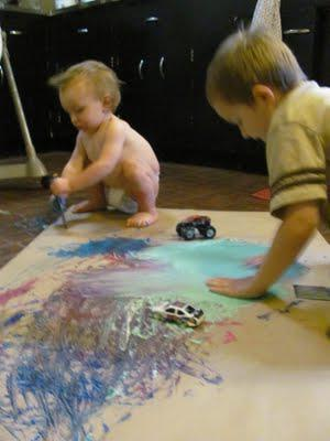EXPLORE ART project with BABY