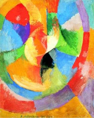 EXPLORE ART projects: Robert Delaunay Collages