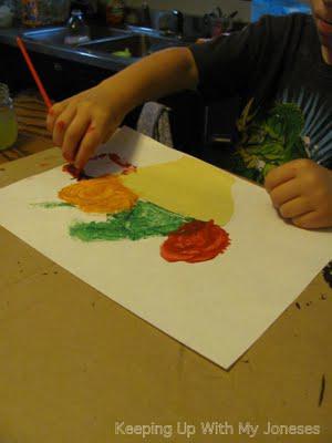 EXPLORE ART: Cezanne inspire Fruit Still Life
