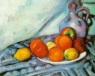 EXPLORE ART: Cezanne inspire Fruit Still Life