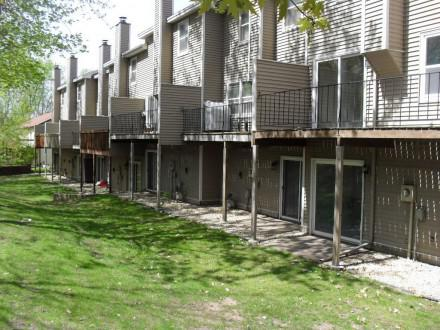 Decks on townhouses