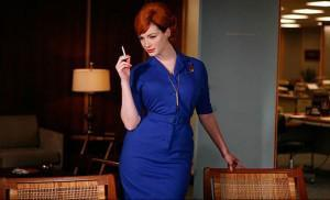 joan holloway and pen necklace